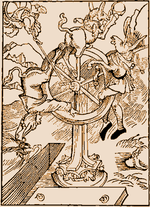 Durer Wheel of Fortune/ Ship of Fools