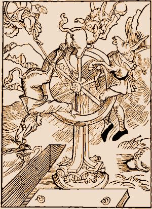 Durer Wheel of Fortune/ Ship of Fools